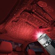 USB LED Starlight noc regulacja światła wiele efektów świetlnych atmosfera Galaxy światła projektor gwiazda dekoracyjne światła JQ