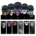 Бесшовная Балаклава с изображением клоуна, аниме, черепа, волшебный шарф на Хэллоуин, головные уборы, спортивные банданы, мужской шарф для в...