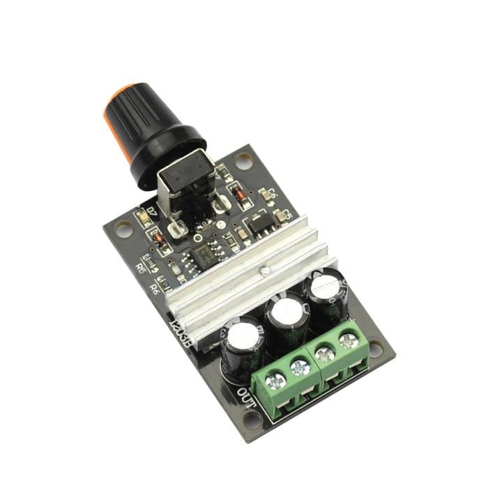 H1bb9e199a7134982b2dc97f0349e2b456 - New DC Motor Speed Switch Regulator Controller PWM Variable Adjustable 6V 12V 24V 28V 3A SCI88