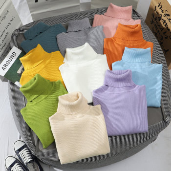 Heliar 2021 Spring Women Turtleneck Sweater Long Sleeve Casual Knitted Pullovers Thick Jumpers Underwear Sweaters For Women 1