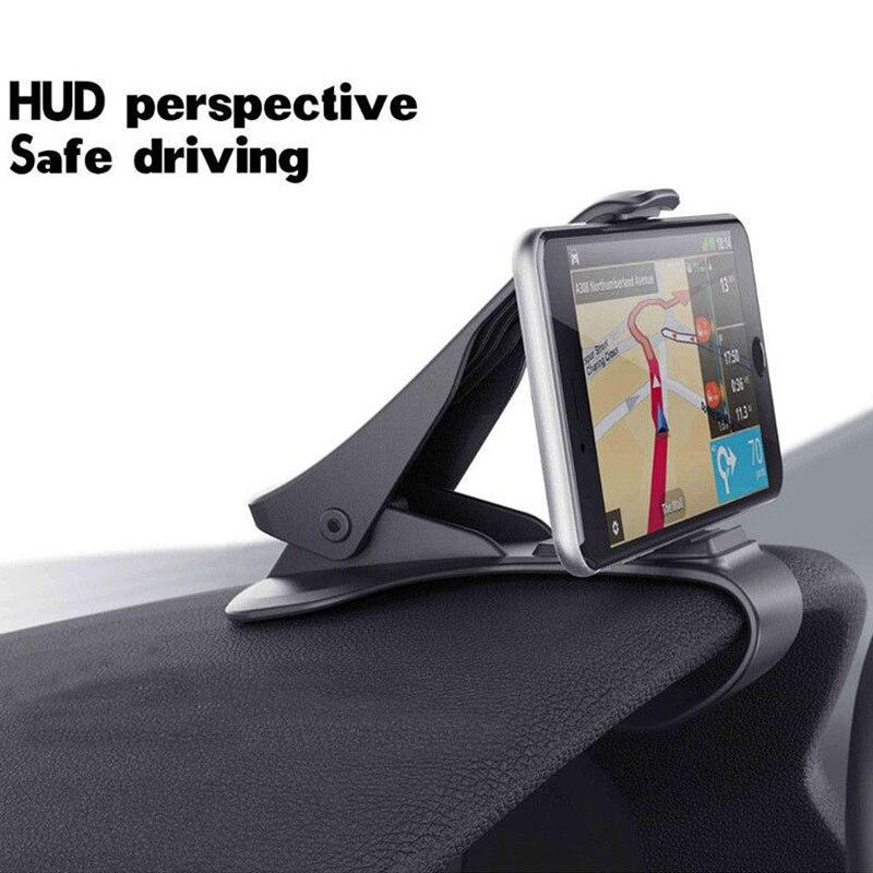 Car GPS Navigation Stand Dashboard Car Phone Holder For Redmi Note 7 Portable Clip Folder Holder 6.0