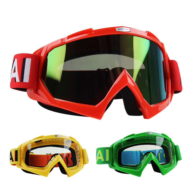 Off-road Helmet Goggles Goggles For Motorcycle Ski Goggles Riding Dustproof Bicycle Glass Eye-protection Goggles Downhill Goggle