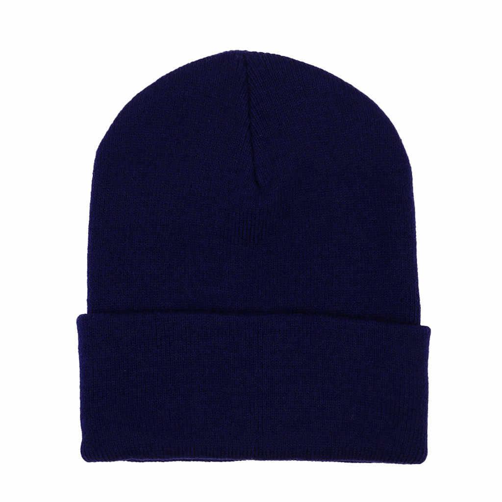 Hommes femmes laine tricot bonnets Baggy chaud Crochet hiver Ski Beanie crâne Slouchy casquettes chapeau hiver chapeaux pour femmes bonnet chapeau
