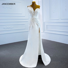 J67188 белое привлекательное свадебное платье без бретелек с