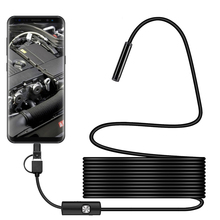 Mini Camera Usb-Port Waterproof Wireless 3-In-1 Visual-Lens Inspection