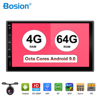 2 Din 7'' Octa core Universal Android 9.0 Car Radio Stereo GPS Navigation WiFi 1024*600 Touch Screen 2din Car PC HDMI