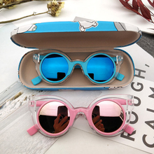 Boys Sunglasses Uv-Protection Girls Personalized Summer UV400 Cool Baby New