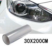 1roll Car Transparent Light Protector Film Bumper Hood Paint Protection Headlight Protective Film Vinyl Wrap 200*30cm