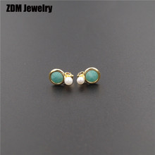925 sterling silver cubic zirconia earrings 1:1 copy Spain bear Jewellery earrings fashion Jewellery For women