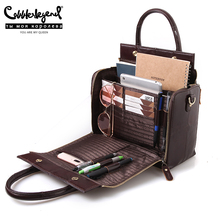Handbag Shoulder-Crossbody-Bag Cobbler Legend Lady Tote Multifunctional Large Genuine-Leather