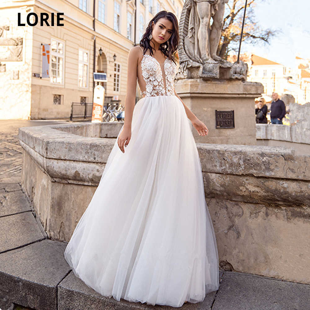 Lorie Summer Beach Wedding Dresses 2020 Sexy V Neck 3d Flowers Lace Appliques Brides Gown Soft Tulle Boho Bridal Gown Plus Size Aliexpress,Wedding Dressing Table