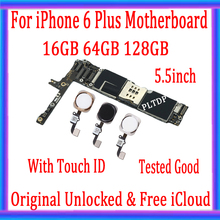 Free-Icloud Touch-Id iPhone Factory-Unlocked for 6-plus/5.5inch/Motherboard with Original