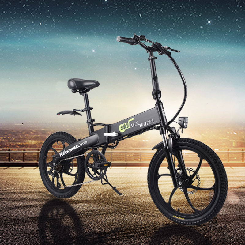 New 350W 30KM h mountain electric font b bike b font 20inch fat tire ebike eletrica