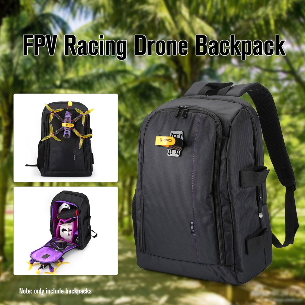 FPV Racing Drone Backpack Carry Bag Outdoor Portable Aircraft Case Shoulder Bag For Multirotor RC Plane Fixed Wing