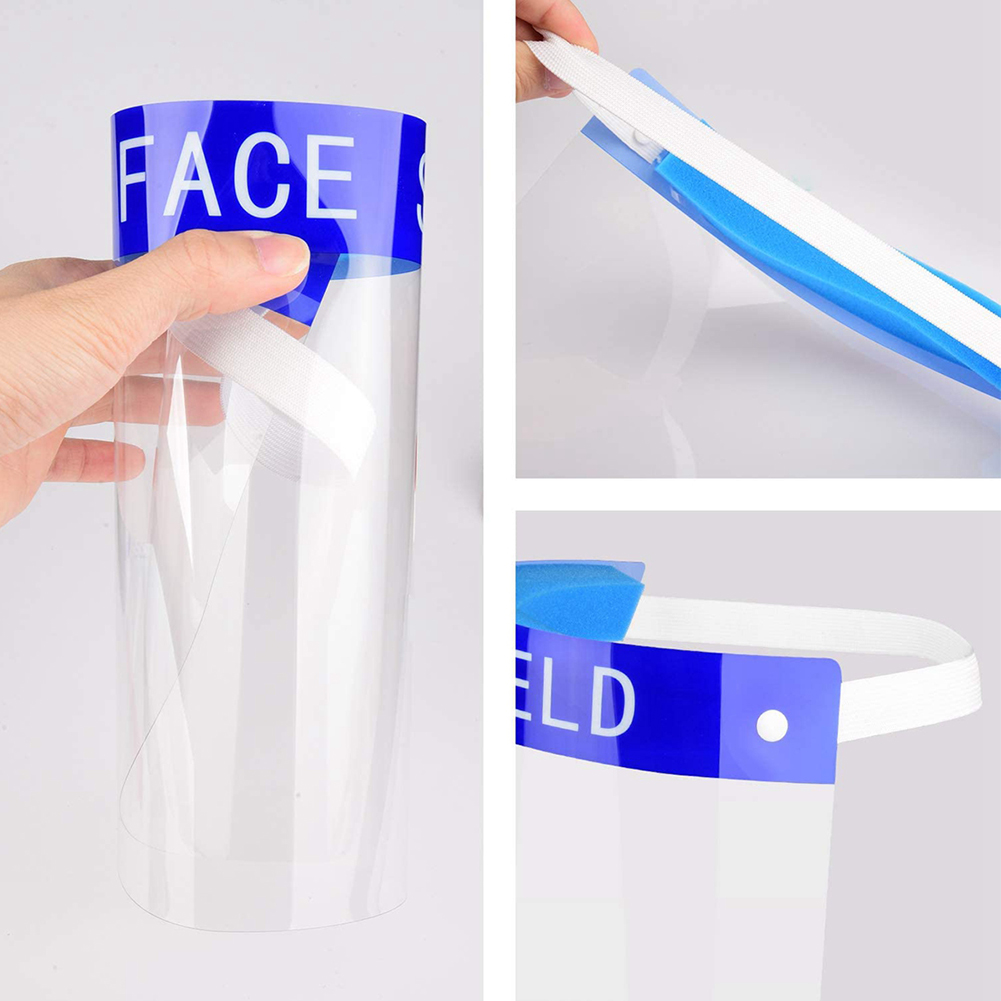 Anti-fog and Anti-Droplet Protective Clear Face Shield/Face Cover
