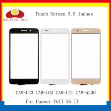 10Pcs/lot For Huawei Y6ii Y6 II Touch Panel Sensor Digitizer Front Glass CAM-L23 CAM-L03 CAM-L21 CAM-AL00 Screen