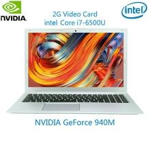 15.6 Inch i7-6500U 2G Video Card Gaming Laptop Russian Laser Backlit Keyboard Netbook 16G RAM DDR4 1