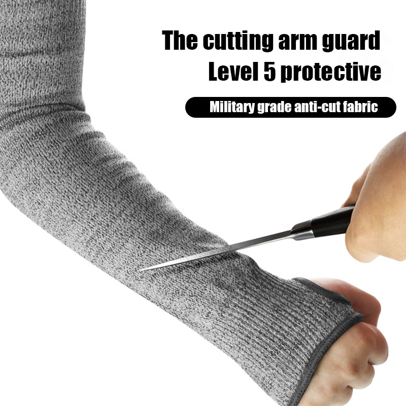 Anti-cut Arm Shield Glass Wrist Guard Outdoor Protective Equipment Hand Elbow Anti-scratch Wood Worker Protective Sleeve