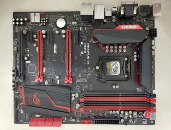 ASUS MAXIMUS VII HERO original motherboard for  DDR3 LGA 1150 for I3 I5 I7 32G USB2. USB3.0 Z97 Desktop motherborad
