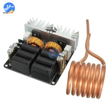 High Power 20A 1000W ZVS Low Zero Voltage Induction Heating Board Module DC 12V 48V Flyback Driver Heater For DIY High Quality