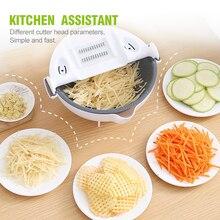 Grater Vegetable-Cutter Slicer Potato-Chip Kitchen-Tools Multifunctional Household Radish
