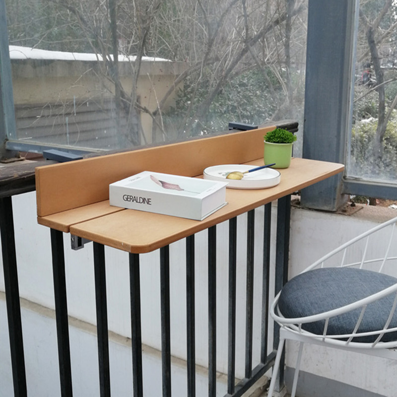 Nordic Furniture Corner Table Bar Table Multifunctional Hanging Outdoor Tea Table Wood  Outdoor Furniture