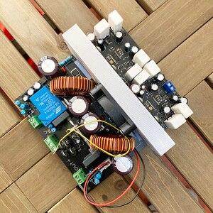 Image 2 - Усилитель 2000 Вт, 2 кВт, RMS Hi Fi, высокая мощность IRS2092, плата цифрового усилителя BTL, высокая точность, сценический усилитель, супер сабвуфер, плата H123