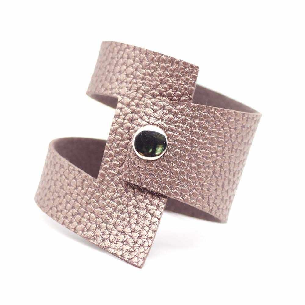 D & D трещины кожаные браслеты женские Модные Винтажные Браслеты Браслет Чакра Ювелирные изделия ручной работы кожаные украшения крутые оптом