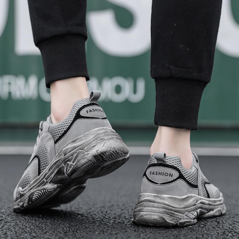 Factory Direct Sale New Autumn Shoes Men's Mesh Air
