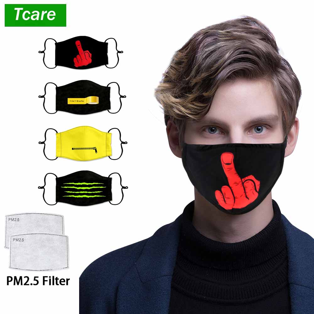 Tcare Anti Pollution Mask Air Dust Face Masks Washable Reusable Mouth Cover Dustproof Respirator Safety for Men Women Outdoor|Masks| - AliExpress