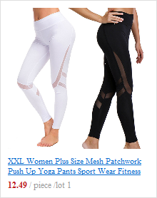 Calças femininas sem costura de malha, 6