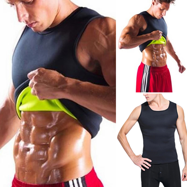 Ecmln Dropshipping Slimming Belt Belly Men Slimming Vest Body Shaper Neoprene Abdomen Fat Burning Shaperwear Waist Sweat Corset 1