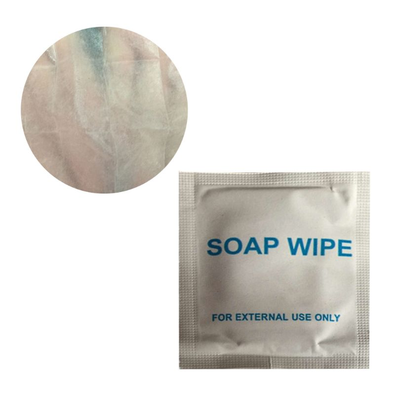 Wet Tissue Soap Wipe Cleaning Disposable Portable Outdoor Travel Wash Hands Wipes Travel Sheet For External Use Q0KD