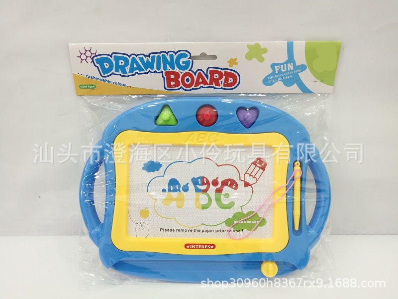 Color Magnetic Drawing Board Children Drawing Board Magnetic Drawing Board Children Handwritten Doodle Board Toy