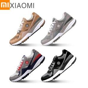 Новые кроссовки XIAOMI MIJIA, ультралегкие мужские кроссовки для бега, спортивная обувь, легкая для очистки, амортизация, обувь для тенниса, бадми...