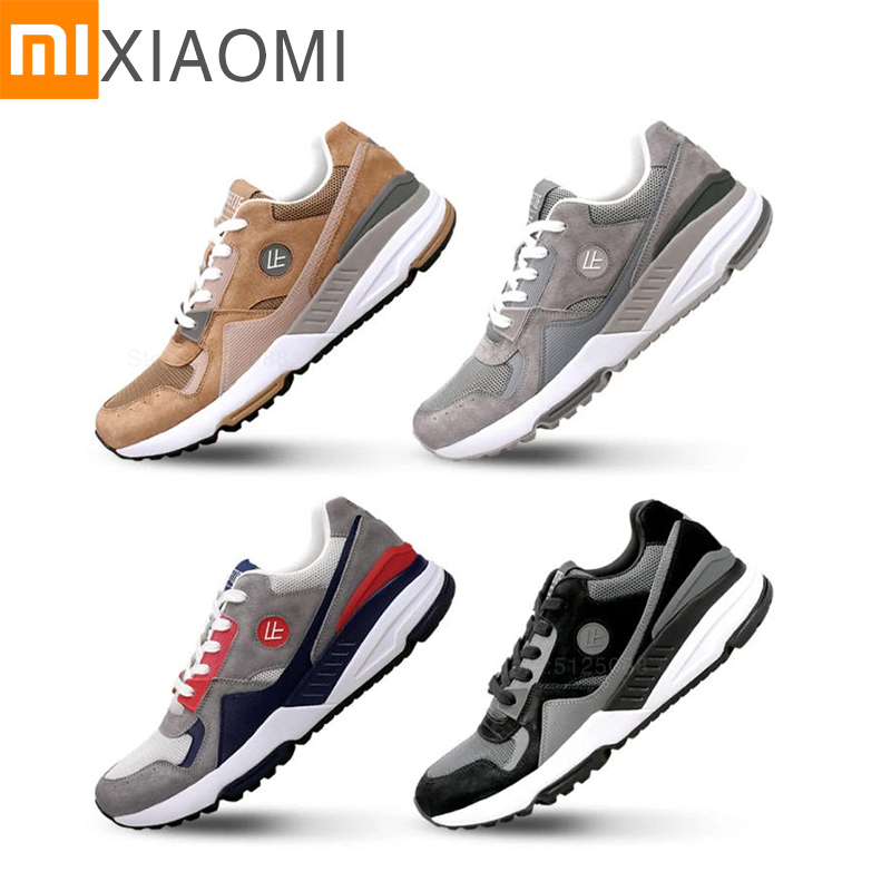 NEW XIAOMI MIJIA Sneakers Ultralight Men's Sneakers Running Sports Shoes Easy To Clean Shock Absorption Tennis Badminton Shoes
