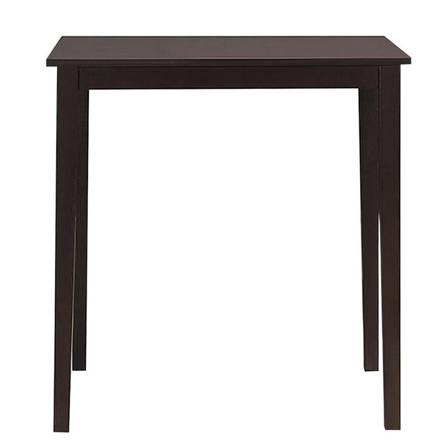 Square Dining Table w/Rubber Wood Legs 35.5 5