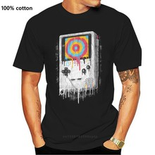 Dripping Colors Gameboy Reto Vintage Unisex Black Classic Gamers Ph5 T Shirt T Shirt Brand 2018 Male Short Sleeve Top Tee