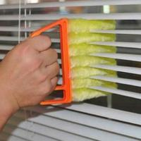 Microfiber Blinds Cleaning Brush Air Conditioner Duster Cleaning Brush Washing Windows Car Air Outlet Cleaning Tools TSLM1 6