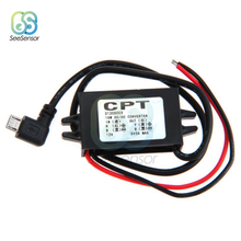 DC/DC 12V to 5V 3A 15W Car Power Buck Converter Regulator Micro USB Step Down Voltage Power Supply Output Adapter koral свитер