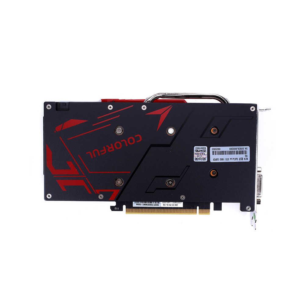 Nhiều Màu Sắc GeForce GTX 1660 Siêu NB 6G Card Đồ Họa 1785MHz GDDR6 6 B192Bit Tản Nhiệt Chơi Game GPU