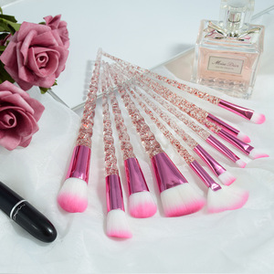 Image 5 - 5/10PCS Makeup Brushes Set Spiral Handle Foundation Powder Blush Eyeshadow Concealer Lip Eye Make Up Brush Cosmetics Beauty Tool