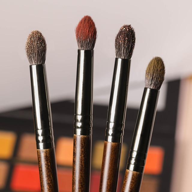 OVW 1pc Goat Hair Crease Blending Brush Eyeshadow Makeup cosmetic kit de pinceis de maquiagem Smudge Eye Makeup Brushes 3