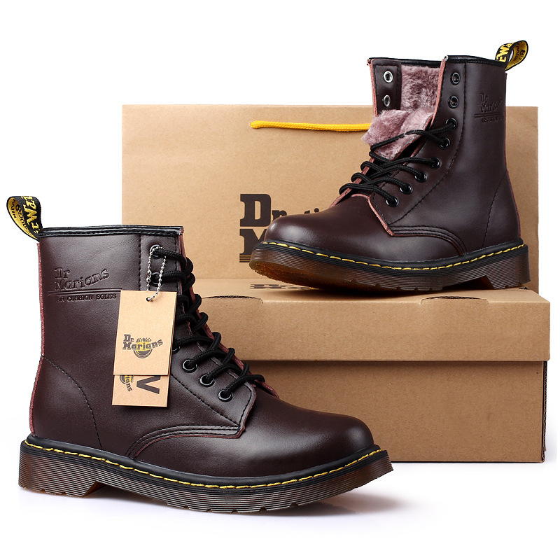 39-46 botas masculinas marca 2019 moda confortável botas de couro # nx1460