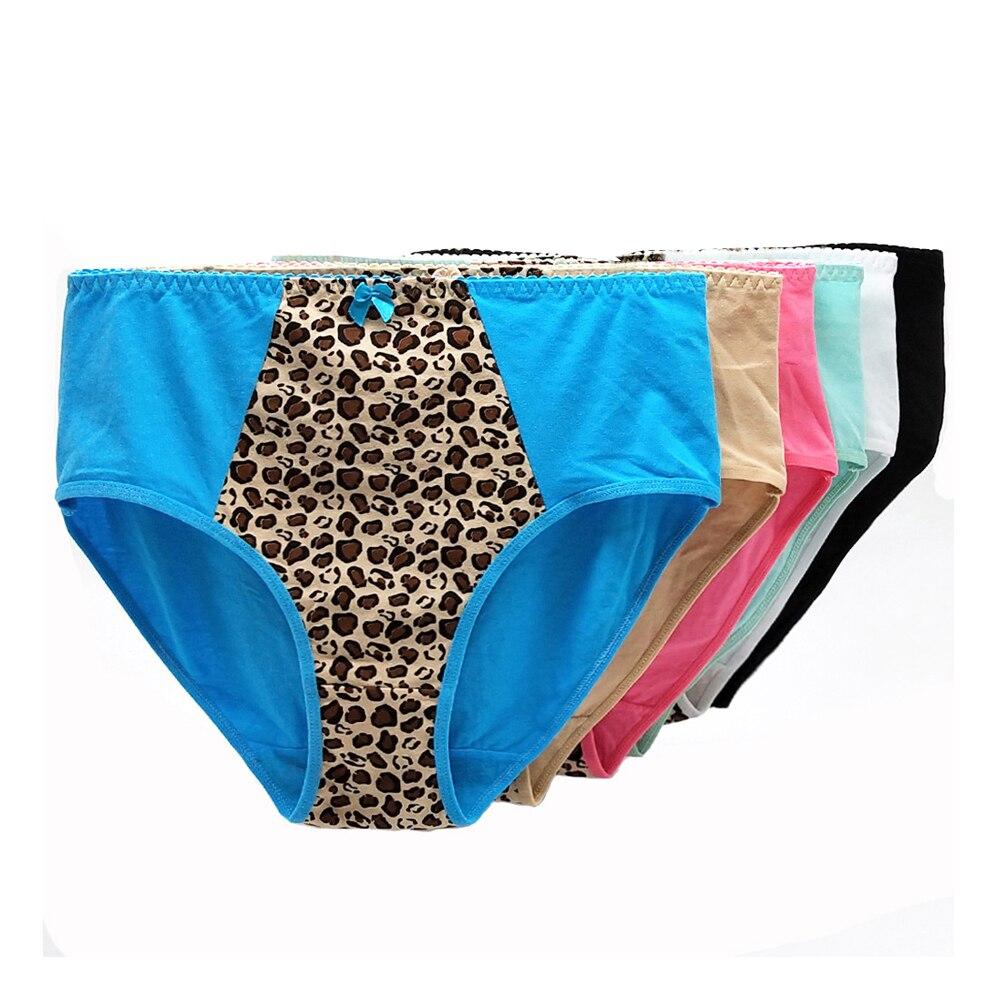 Комплект женского нижнего белья из 6 предметов хлопковые женские
