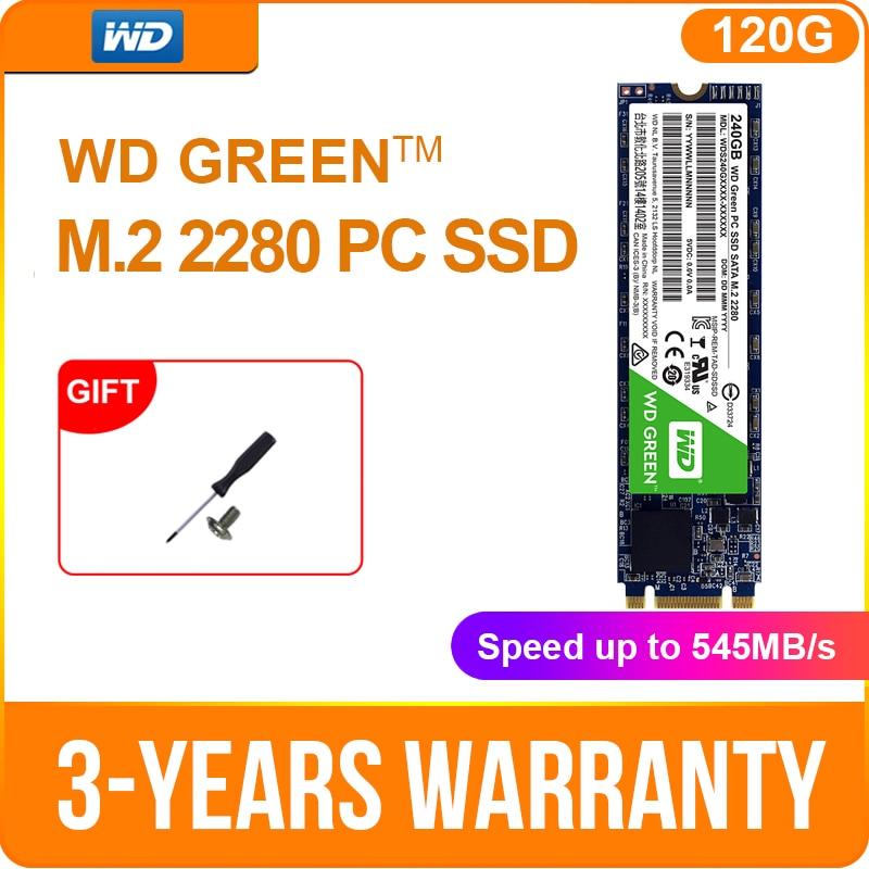 Western Digital WD SSD GREEN 120 ГБ 240 ГБ M.2 (2280) NGFF ноутбук Внутренний твердотельный sate drive 480g ТБ M.2 2280 ноутбук ssd|internal hard disk drive|ssd pcnotebook drive | АлиЭкспресс