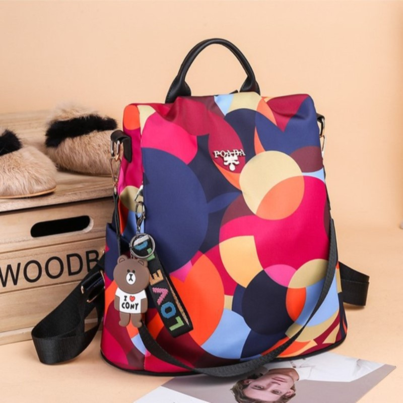 Online Celebrity Style Hot Selling Fashion Multi-functional Dual Purpose Shoulder WOMEN'S Bag Export 911