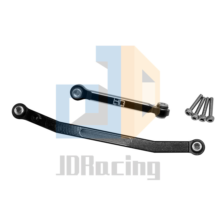 Aluminum Alloy Steering Rod Tie Links for Axial SCX24 90081 1:24 RC Crawler Car