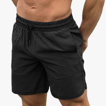 Casual Men Shorts Pants Elastic Waist Clothing Breathable Sports Fitness Male Short Homme Masculina Moda