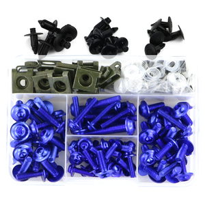 Image 3 - For BMW S1000R S1000RR HP4 R1200RS G310R S1000XR R1150R R1200R CNC Aluminum Complete Full Fairing Bolts Kit Screws Nuts Clips